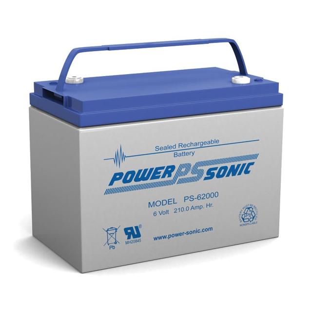 PS-62000 - 6 Volt 200 Ah Sealed Lead Acid Battery