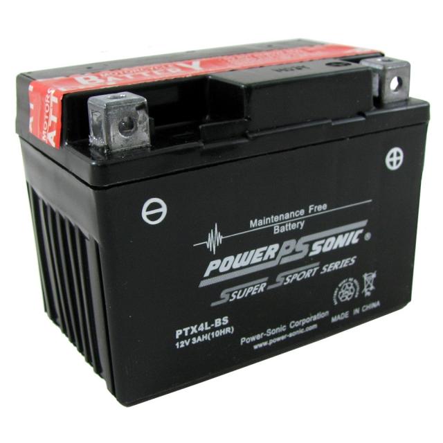 PTX4L-BS AGM Power Sports Battery