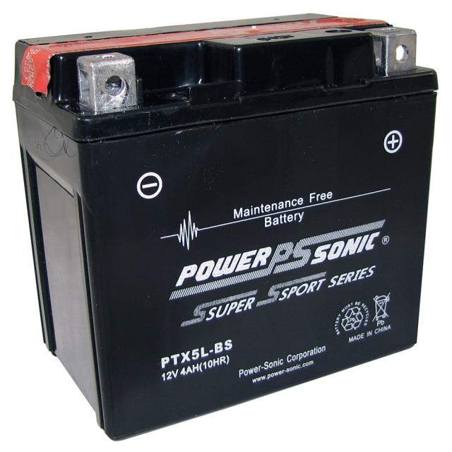 PTX5L-BS AGM Power Sports Battery
