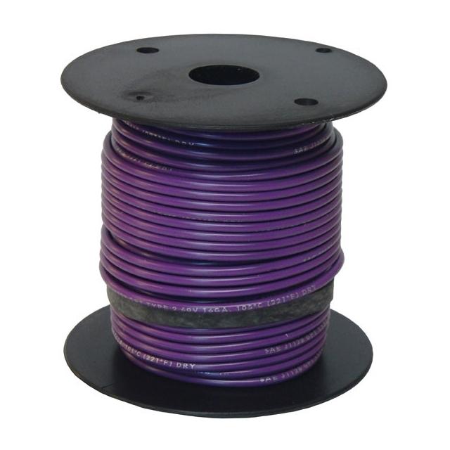 16 Gauge Purple Wire - General Purpose Primary Wire