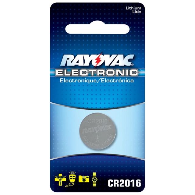 Rayovac CR2016 Lithium Battery