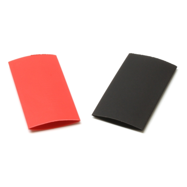 """Heat Shrink Tubing 1/2"""" Red and Black"""