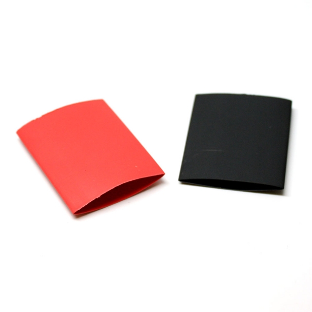 """Heat Shrink Tubing 3/4"""" Red and Black"""