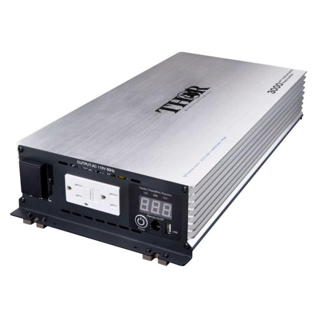 THOR 3000 Watt Pure Sine Wave Power Inverter