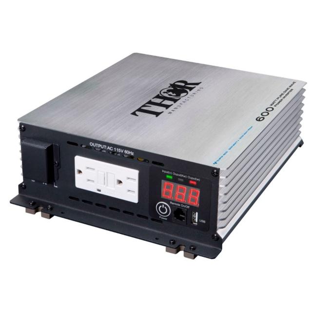 THOR 600 Watt Pure Sine Wave Power Inverter