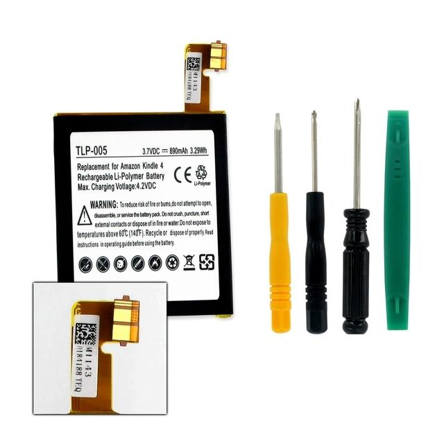 Amazon Kindle 4 & Kindle 6 E-Reader Battery