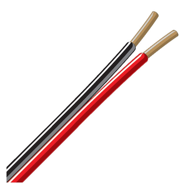 Trailer Wire - Bonded 2 Conductor 16 Gauge Red & Black