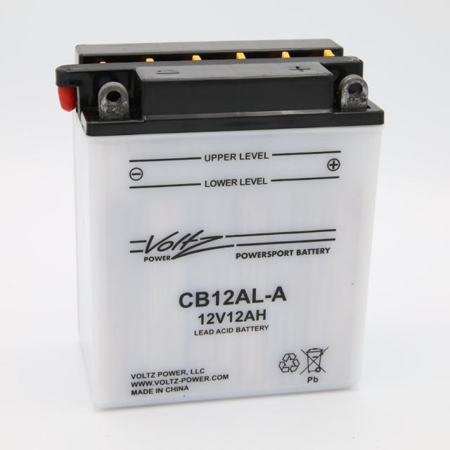CB12AL-A Power Sports Battery, with Acid