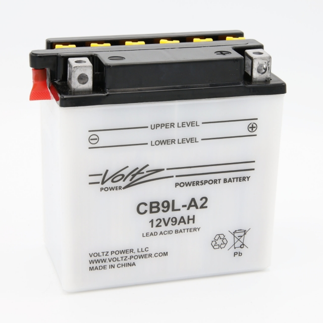 CB9L-A2 Power Sports Battery, with Acid