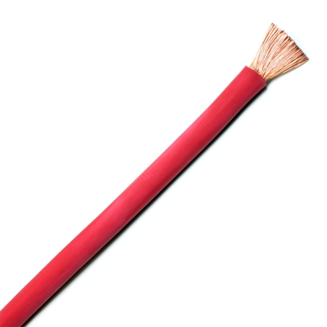 4 Gauge Welding Cable, Red