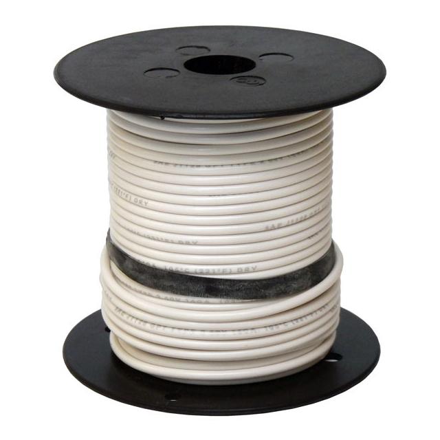 16 Gauge White Wire - General Purpose Primary Wire