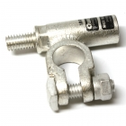 1/0 Gauge Left Add-On-Terminal Clamp Connector Stud View