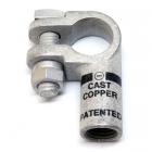 1 & 2 Gauge Left Elbow Compression Terminal Clamp Connector