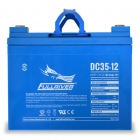 Fullriver DC35-12 Deep Cycle AGM Battery, Group Size U1