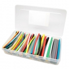 Single Wall Multi-Color Heat Shrink Tube Kit, 160 Piece