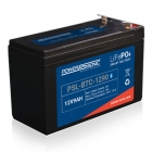 Power Sonic PSL-BTC-12120 Lithium Iron Phosphate (LiFePO4) Battery, 12 Volt 12 Ah