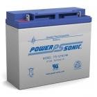 PS-12180 - 12 Volt 18 Ah Sealed Lead Acid Battery