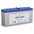 PS-1282L - 12 Volt 9 Ah Sealed Lead Acid Battery
