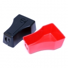 4 & 6 Gauge Snap-On Straight Terminal Clamp Protector Cover