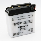 6N11A-1B Flooded Power Sports Battery, with Acid