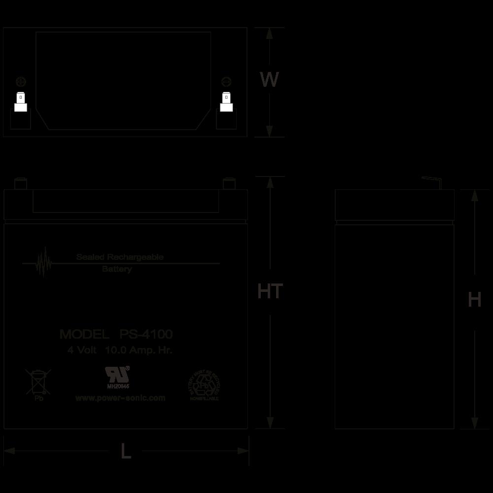 ps-4100-dimensions