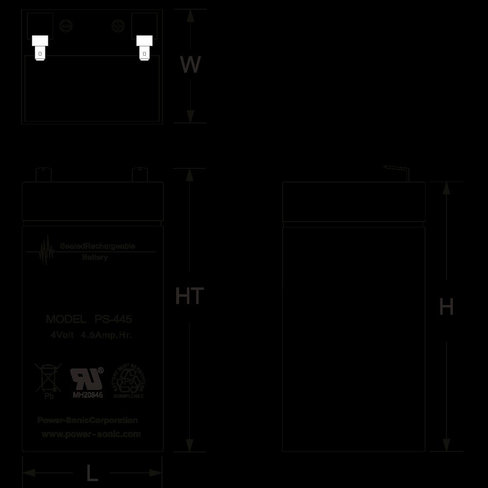 ps-445-dimensions