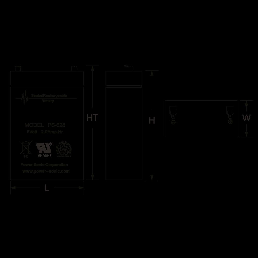 ps-628-dimensions