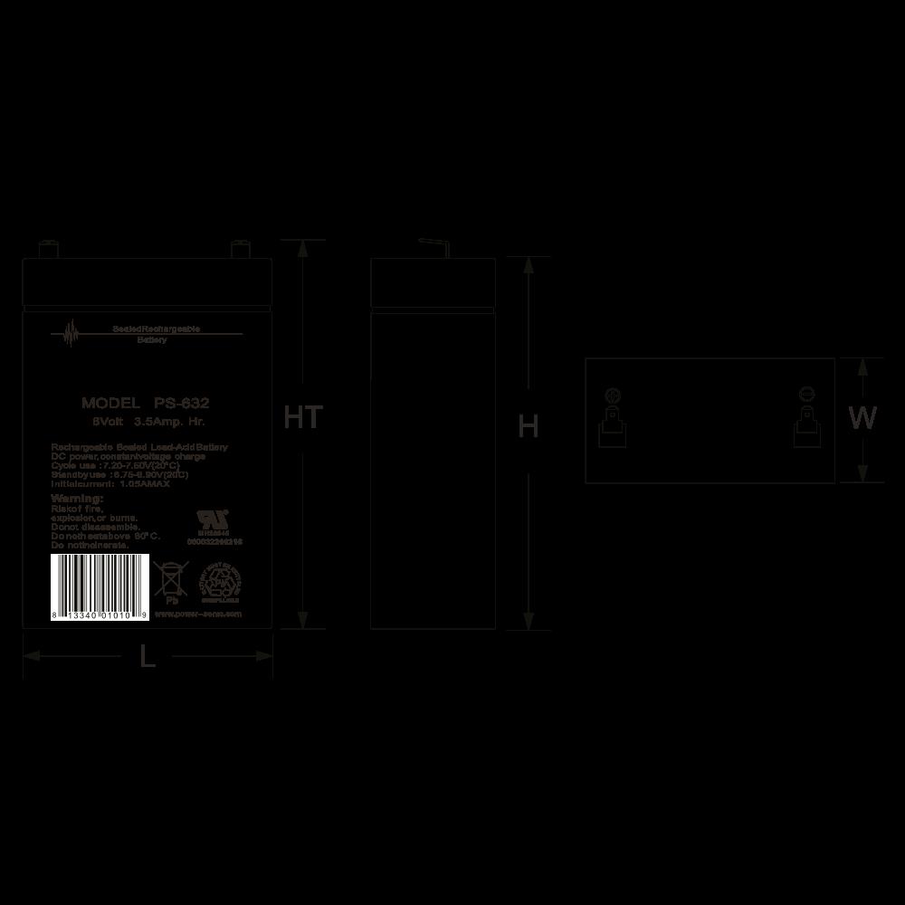 ps-632-dimensions